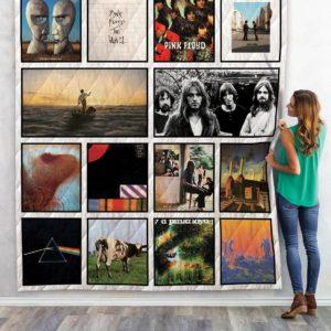 Pink Floyd Album 2 Quilt Blanket
