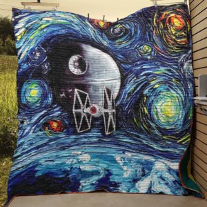 Star Wars - Abstract Art  Quilt Blanket