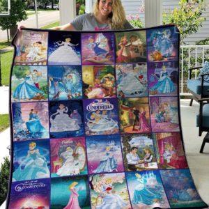 Cinderella Ver1 Quilt Blanket