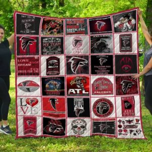 Home Sweet Home Atlanta Falcons Quilt Blanket Great Customized Blanket Gifts For Birthday Christmas Thanksgiving