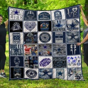 Nfl Dallas Cowboys Quilt Blanket