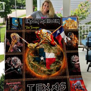 Iron Maiden Quilt Blanket