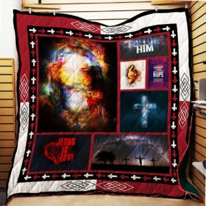 I Love Jesus – Quilt Blanket 5