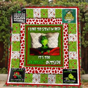 Grinch Quilt Blanket