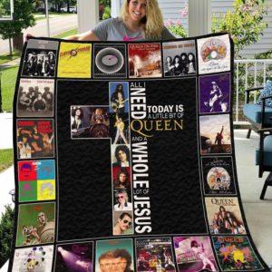 Queen Band Quilt Blanket