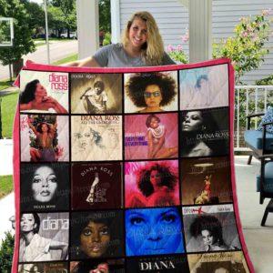 Diana Ross Quilt Blanket 01