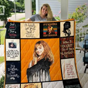 Hermione – Harry Potter Quilt Blanket 01