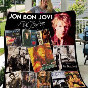 Jon Bon Jovi New Quilt Blanket