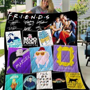 Friends Vr3 Quilt Blanket