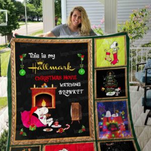 Christmas Snoopy Quilt Blanket 01