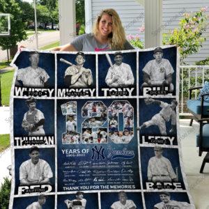 New York Yankees Mr17 Quilt Blanket