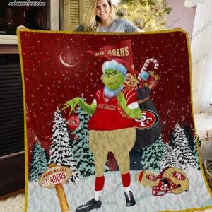 San Francisco 49ers Quilt Blanket Ver 06