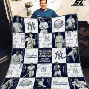 New York Yankees Lg25 Quilt Blanket