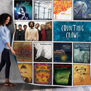 Counting Crows Album Quilt Blanket 01