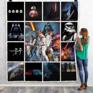 Star Wars Quilt Blanket 02