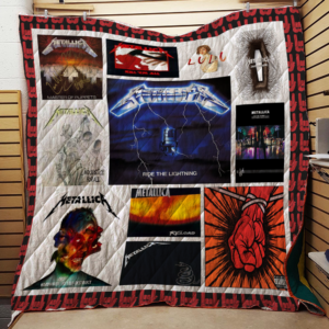 Metallica Quilt Blanket For Fans