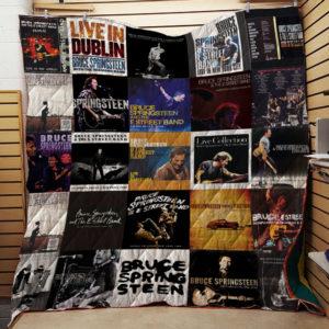 Bruce Springsteen Live Albums Quilt Blanket For Fans