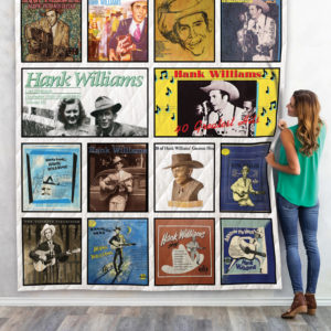 Hank Williams Quilt Blanket For Fans 02