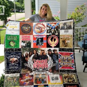 Lynyrd Skynyrd All Albums Quilt Blanket