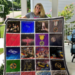 Electric Light Orchestra Quilt Blanket For Fans