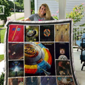 Electric Light Orchestra Quilt Blanket