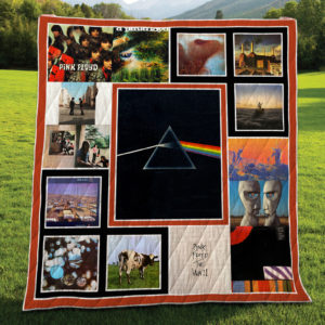 Pink Floyd Albums Quilt Blanket For Fans New