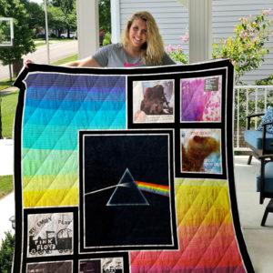 Pink Floyd Ep Quilt Blanket For Fans