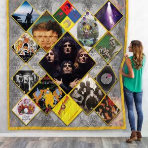 Queen Albums Quilt Blanket