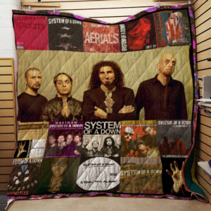 System Of A Down Band Quilt Blanket