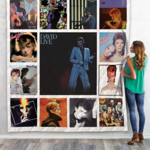 David Bowie Album Quilt Blanket 01