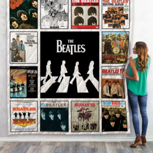 The Beatles Quilt Blanket For Fans