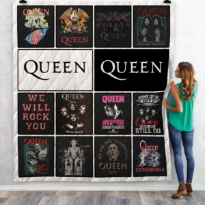 Queen Tshirt Quilt Blanket For Fans