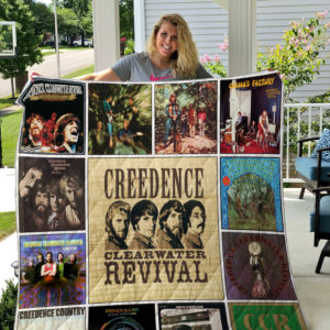 Creedence Clearwater Revival Quilt Blanket