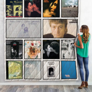 John Lennon Albums Quilt Blanket For Fans New