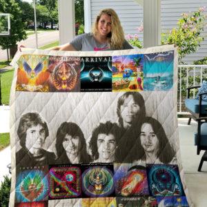 Journey Band Albums Quilt Blanket