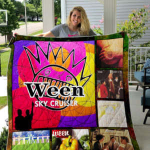 Ween Ep Quilt Blanket For Fans