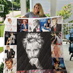 Rod Stewart Albums Quilt Blanket For Fans