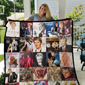 Rod Stewart Quilt Blanket For Fans