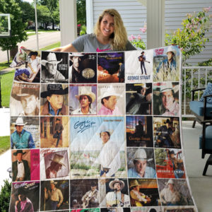 George Strait Albums Quilt Blanket New