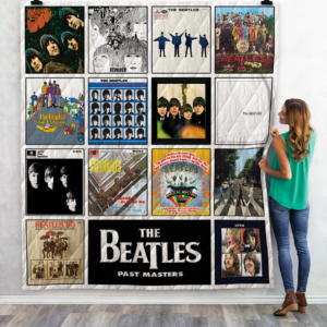 The Beatles Albums Quilt Blanket