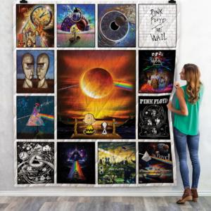 Pink Floyd Quilt Blanket