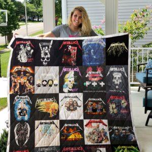 Metallica Quilt Blanket