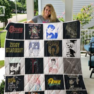 David Bowie Quilt Blanket For Fans