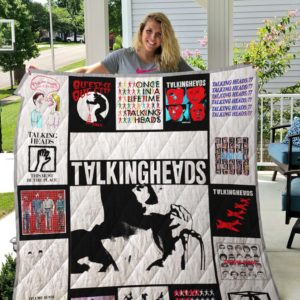 Talking Heads Quilt Blanket