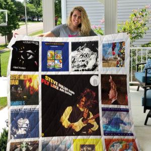 Steve Miller Band Albums Quilt Blanket 01