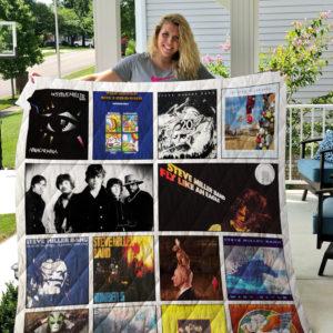 Steve Miller Band Albums Quilt Blanket 02