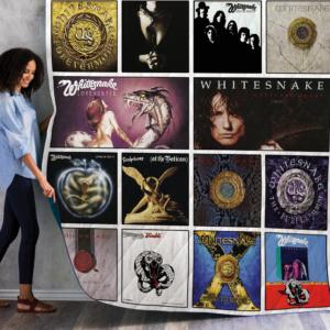 Whitesnake Quilt Blanket 01