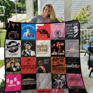 Goodfellas Quilt Blanket For Fans