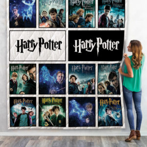 Harry Potter Movies Quilt Blanket 06