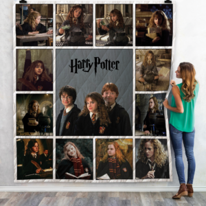 Harry Potter Movies Quilt Blanket 04